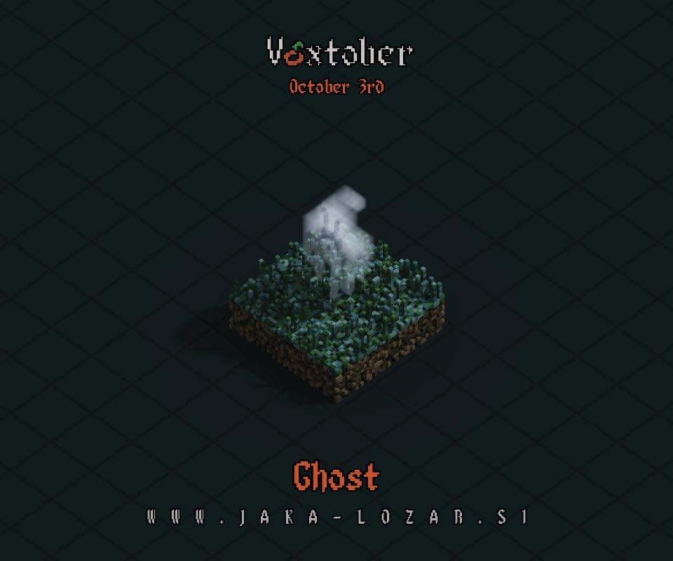 Jaka Lozar Voxtober 2020 Image Day 3 Ghost