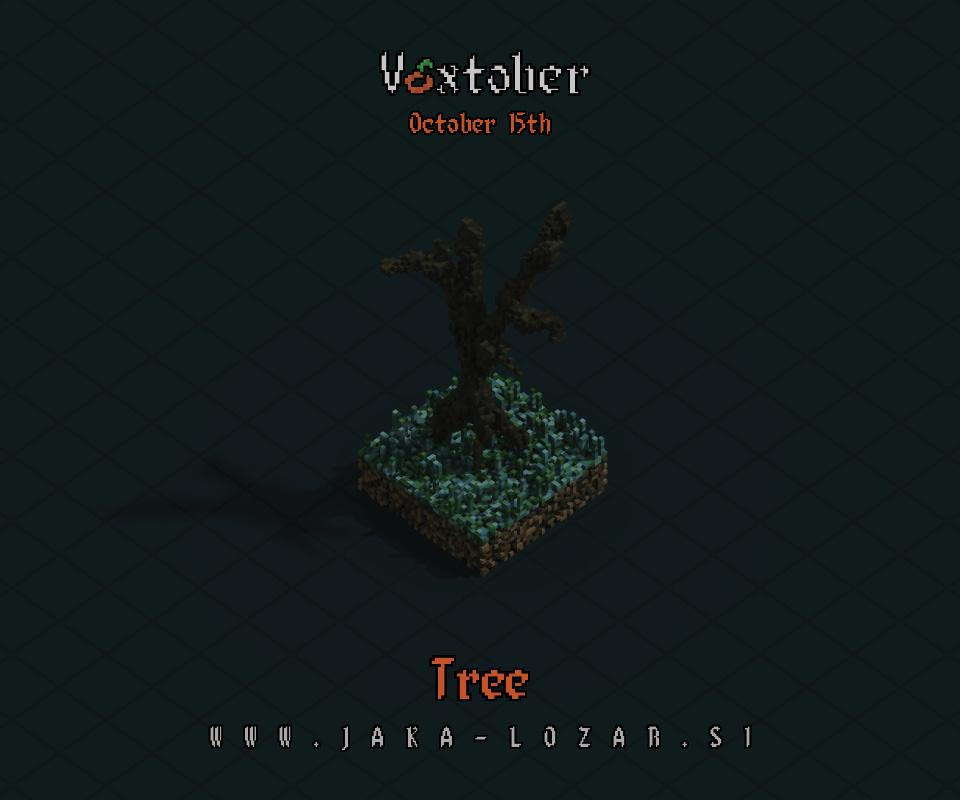 Jaka Lozar Voxtober 2020 Image Day 15 Tree